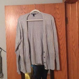 Long-sleeved cardigan